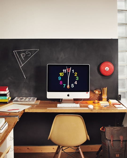 碧江上海办公家具:国外多款家庭创意办公室图片