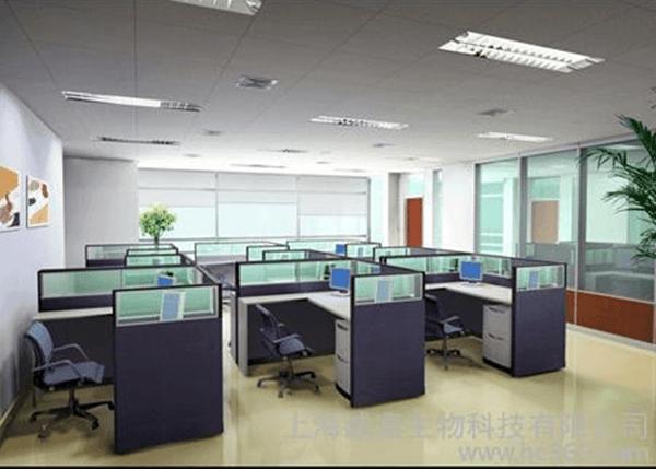 企业家具摆放于企业办公室中