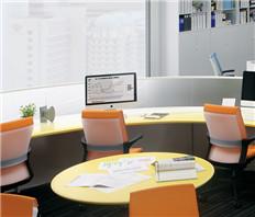 职员办公区家具定制设计