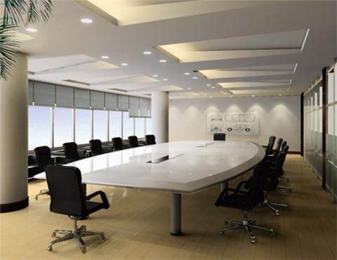 时尚会议室办公家具定制