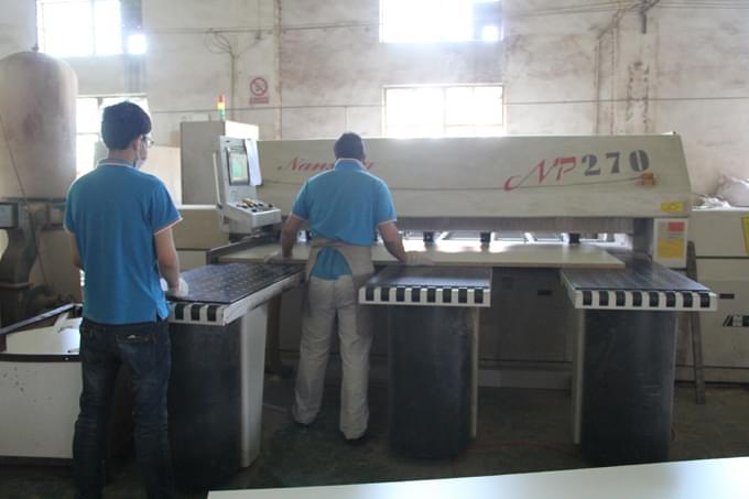 碧江大型木料切割机
