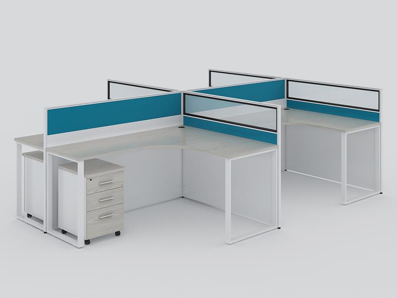 l型办公桌设计