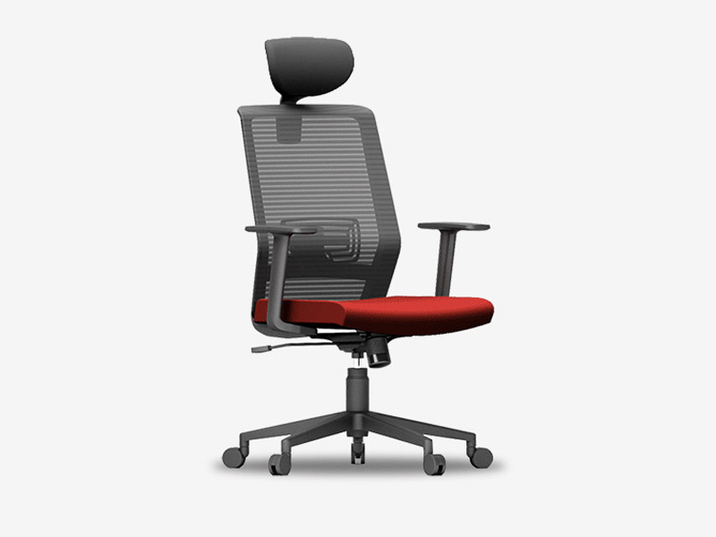 人体工程学网椅_舒适透气转椅_职员工办公椅