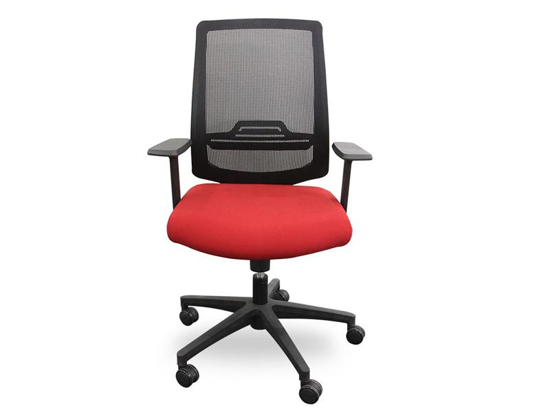 简约透气电脑椅_减压舒适透气职员椅_办公网布转椅