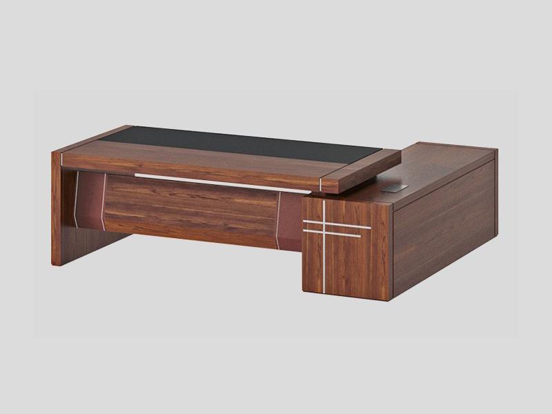 木质油漆中式简约老板经理办公桌大班台3.2m