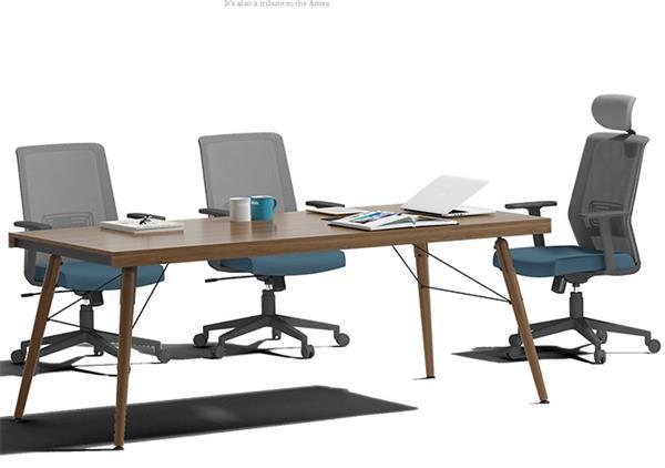 长方形会议桌会议室桌职员开会桌简约现代洽谈桌