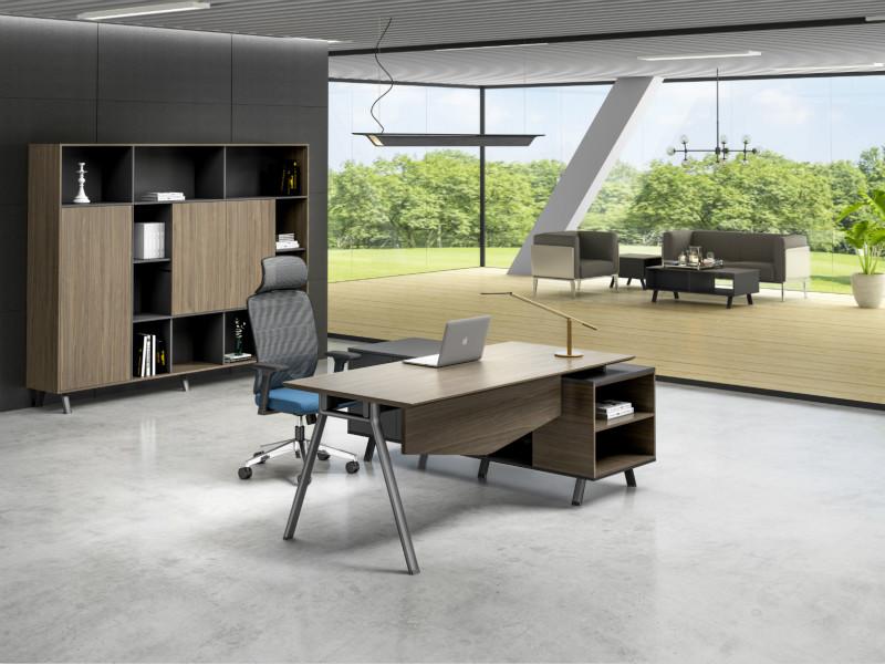 时尚美观经理胶板办公桌