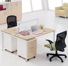 板式屏风办公桌——凯锐KR1-D0814-1