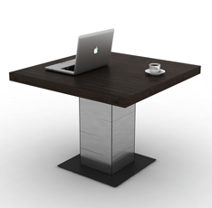 时尚板式小会议桌 方形洽谈桌--DZ505