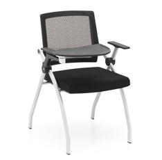 时尚可折叠培训椅,带写字板会议椅T803SH-Y