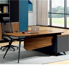 经理老板桌大班台简约现代主管桌椅时尚老总办公电脑桌