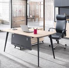 老板桌简约现代办公家具时尚老板办公桌单人主管桌经理桌