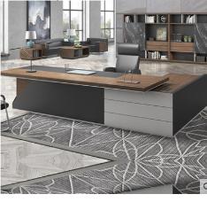总裁桌老板桌简约现代办公家具新款经理桌大班台主管桌