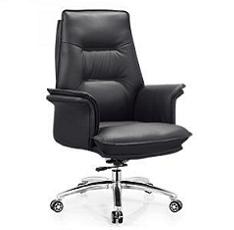 老板椅班前椅家用舒适皮椅大班椅黑色西/牛皮办公椅